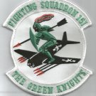 NAVY VF-151 Aviation Fighter Squadron Military Patch FIGHTING 151 GREEN KNIGHTS