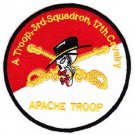 ARMY 3rd SQUADRON 17th CAVALRY REGIMENT APACHE TROOP MILITARY PATCH