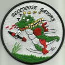 NAVY VF-822 AVIATION FIGHTER SQUADRON MILITARY PATCH BELLICOSE GATORS