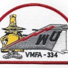 "USMC VMFA-344 MARINE FIGHTER SQUAD ""FALCONS"" PHANTOM TAIL MILITARY PATCH - SPOOK"