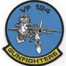 US NAVY VF-124 Aviation Fighter Squadron Gunfighters TOMCAT Military Patch