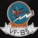 """VF-85 Fighter Squadron Military Patch """"Sky Pirates"""""""