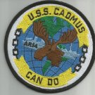 USS CADMUS AR-14 AUXILIARY REPAIR TENDER SHIP MILITARY PATCH CAN DO