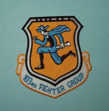 103rd Fighter Interceptor Group 1960's Vietnam Era Flying Yankees Military Patch