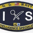 United States Navy INTELLIGENCE SPECIALIST Ratings Patch - IS - Military Patch