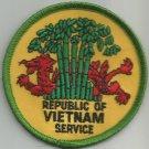 ***REPUBLIC OF VIETNAM  SERVICE  MILITARY PATCH***