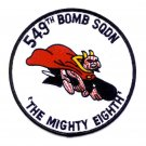US Airforce - 549th Bomb Squadron Military Patch - The Mighty Eighth