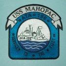 "USS MAHOPAC ATA-196 ""SERVICE TO THE FLEET"" AUXILIARY FLEET TUG MILITARY PATCH"