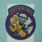 "US ARMY 711th Airborne Ordnance Battalion ""Joes Angels"" Military Patch Insignia"