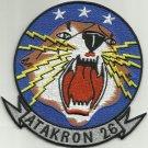 ATAKRON 26 (VA-26) US NAVY ATTACK SQUADRON MILITARY PATCH VA-125 - COUGAR