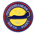NAVY VF-144 AVIATION FIGHTER SQUADRON MILITARY PATCH MEDITERRANEAN SIXTH FLEET