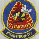 VFA-113 STRIKE FIGHTER SQUADRON 113 STRKFITRON-113 MILITARY PATCH STINGERS