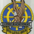 USS LITTLE ROCK CLG-4 GUIDED MISSILE LIGHT CRUISER MILITARY PATCH ACHIEVEMENT