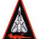 NAVY VF-114 TACTICAL FIGHTER ADVERSARY SQUADRON MILITARY PATCH AARDVARKS TRIANGL