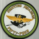 US NAVY FIGHTING SQUADRON FIFTY FOUR MILITARY PATCH - VF 54