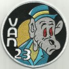 United States NAVY VAN-23 Electronic Attack Squadron Military Patch