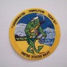 United States NAVY UDT-12 Underwater Demolition Team Military NAVY Patch Frog
