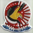 US NAVY VA-811 Aviation Attack Squadron Eight One One Military Patch - SKY HAWKS