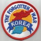 "KOREA - THE FORGOTTEN WAR - MILITARY PATCH 3"" Round"
