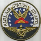 US NAVAL AIR STATION NAS ATLANTA GEORGIA MILITARY PATCH