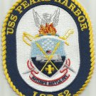 USS PEARL HARBOR LSD 52 DOCK LANDING SHIP MILITARY PATCH NATION'S BATTLE CRY
