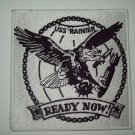 "RAINIER  ""READY NOW!""  AMMUNITION SHIP MILITARY PATCH"