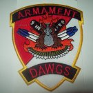 D-3-6 Air Cavalry Aviation Attack Arament Dawgs MILITARY PATCH