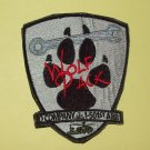 "D CO 1-501st AIRBORNE ""VELCRO"" - WOLF PACK - MILITARY PATCH"