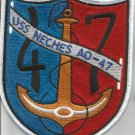 US NAVY - USS NECHES AO-47 FLEET OILER MILITARY PATCH