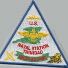 US NAVAL STATION TRINIDAD AND TOBAGO CARIBBEAN MILITARY PATCH UNITED WE STAND