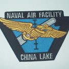 NAVAL AIR FACILITY CHINA LAKE MILITARY PATCH