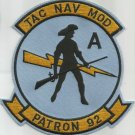 AVIATION PATROL VP-92 TAC NAV MOD - Patron Nine Two - Military Patch