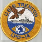 LPD-14 USS TRENTON Austin-Class Amphibious Transport Dock Military Patch