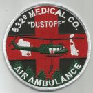 832nd Aviation Medical Company Air Ambulance Military Patch DUSTOFF