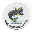 USS Carnelian PY-19 Navy Patrol Yacht Military Patch