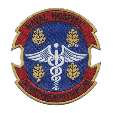 Naval Hospital Cherry Point North Carolina Military Patch