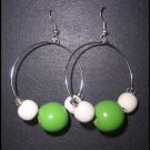 Green Hoops - SOLD