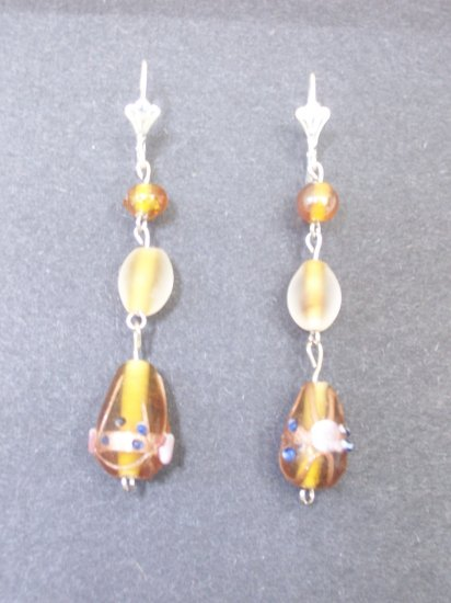 Gold/Brown Lampwork
