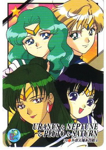 Sailor Moon Stars Graffiti 9 Regular Card #36