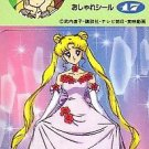 Sailor Moon R Nissui Seal Regular Card #17 Usagi