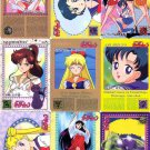 Sailor Moon R Carddass 2 Complete Regular Set Cards of 36