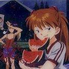 Evangelion Plastic Lawson Chocolate Wafer Card - #DC-02
