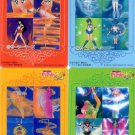 Sailor Moon S Carddass W Regular Cel Cards - Inner Transforming