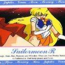 Sailor Moon R Hero 1 Regular Card #80