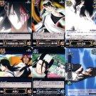 Bleach Soul Card Battle Regular Cards Byakuya Lot of 6