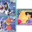 Sailor Moon S Carddass 8 Regulars Card #316,319 & 320 - Pluto Talisman
