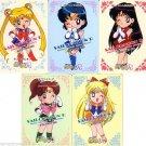 Sailor Moon R PP Pull Pack 4 Regular Cards - Chibi Lot