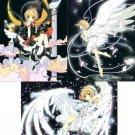 Cardcaptor Sakura Manga Sakura Chapter Regular Cards - Night Sakura