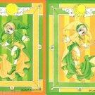 Cardcaptor Sakura Manga Clow Chapter Regular Cards - Green Sakura