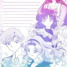 Sailor Moon Doujinshi Stationary Letter Sheet #10